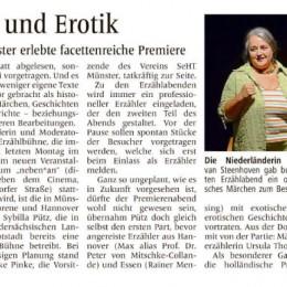 'Exotik und Erotik' bei facettenreicher Premiere