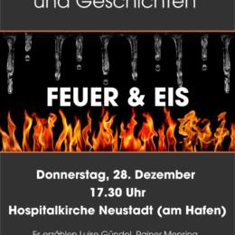 Feuer & Eis zur Raunacht, Neustadt/Hol., 28.12.2017, 17.30 h