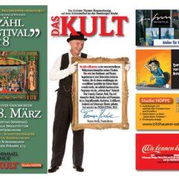 Programm vom Braunschweiger Erzählfestival 16.-18.3.2018
