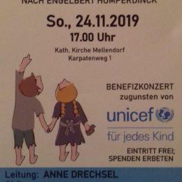 30 Jahre Kinderrechte: Hänsel und Gretel – Benefizveranstaltung in Mellendorf, 24.11.2019, 17 h