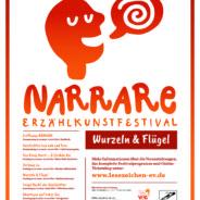 NARRARE Erzählkunstfestival in Jena vom 21. bis 28.11.2019