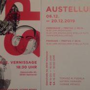 SPLENDID. Winterauftakt im Atelier Edenstraße, Hannover, 6.12.-20.12.2019