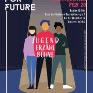 1. Jugenderzählbühne im Haus der Kulturen, Braunschweig, 20.2.2020, 19 h